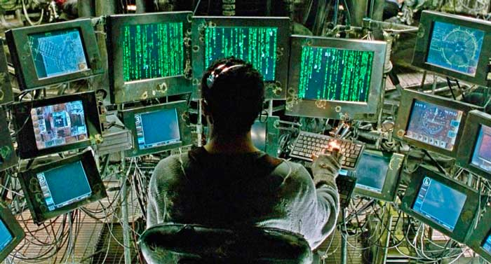 27 inch Monitors used in the film The Matrix.
