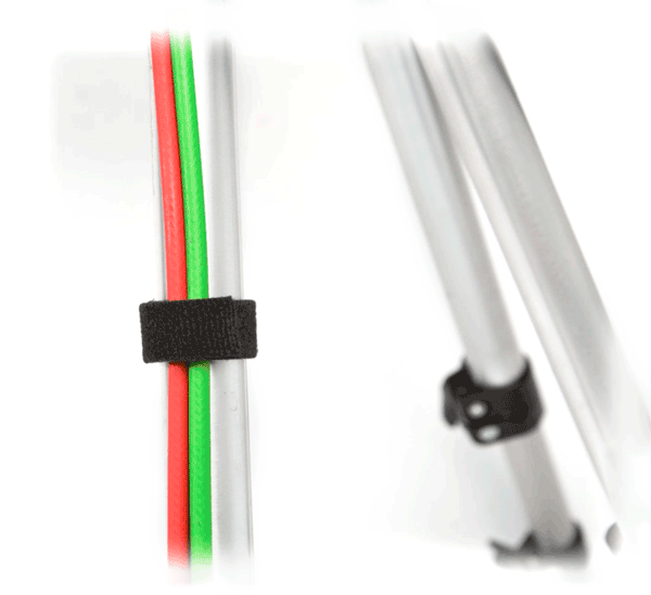 27 Inch Monitor Resources D-Line Cable Tidy Bands