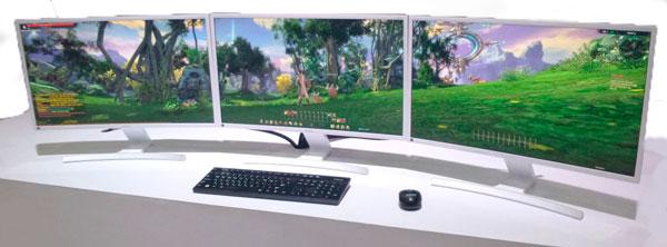 Samsung SE591C Multi-Monitor Setup